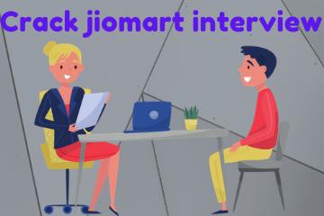 jiomart interview