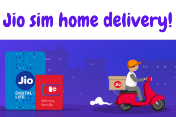 jio sim home delivery