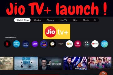 Jio TV+ launch !