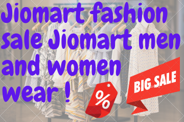 Jiomart fashion sale